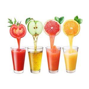 خواص آب میوه و سبزیجات