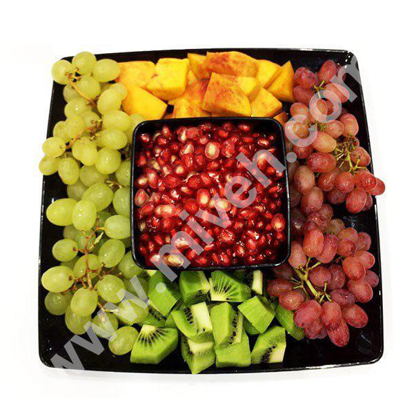 سینی میوه مدل نارلو – میوه خرد شده