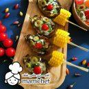 فروشگاه اینترنتی میوه - طرز تهیه فینگر فود بادمجان شکم پر