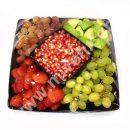 فروشگاه اینترنتی میوه - سینی میوه مدل نارین ( میوه خرد شده )