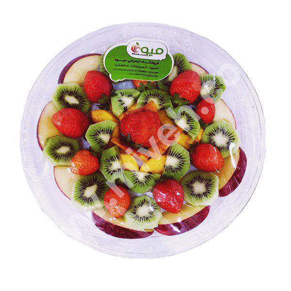 سینی میوه – میوه خرد شده