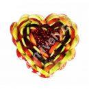 فروشگاه اینترنتی میوه - سینی میوه قلب پاییز ( میوه خرد شده )