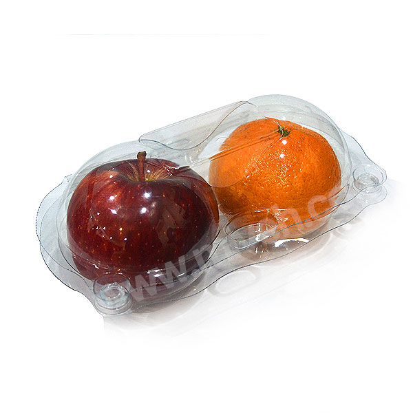 سیب قرمز و نارنگی
