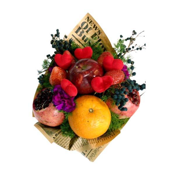 دسته گل ویژه میوه دات کام – محصولات سفارشی