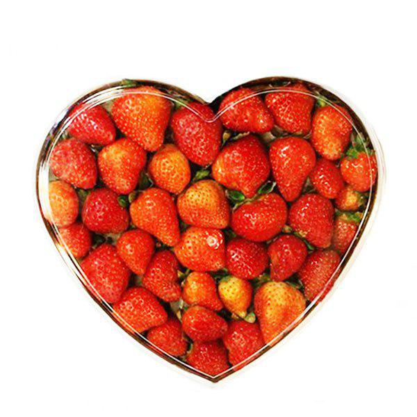 توت فرنگی قلب – بسته سفارشی